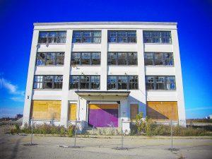 Kodak Building 9, before the move. Image: Metrolinx.