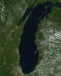 Lake Michigan. Image: NOAA/GLERL