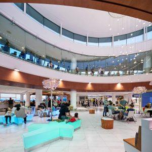 Zone C, Terminal 3, Toronto Pearson International Airport.  Image: Stantec