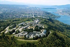 UniverCity at Simon Fraser University, Vancouver. Image: UniverCity