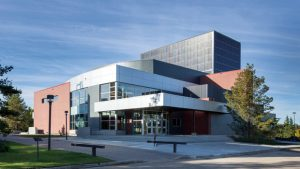 Peter Lougheed Performing Arts Centre, Camrose, Alberta. Image: CISC.