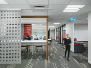 Cisco Systems office at WaterPark Place, Toronto.