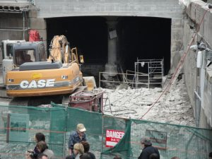 Construction at Union Station, Toronto, in 2012. Photo: CCE/BP