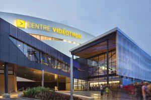 Centre Videotron, Quebec City. Photo: Stephan Groleau.