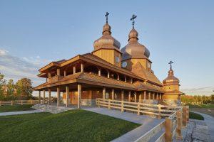 St. Elias Ukrainian Catholic Church, Brampton, Ontario. Image: Ontario Wood WORKS!