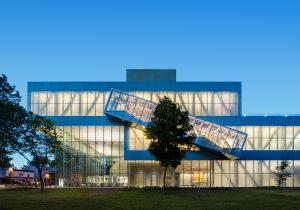 Pavillon Pierre-Lassonde du Musee National des Beaux-Arts du Quebec, Quebec City. Photography by Stephane Brugger