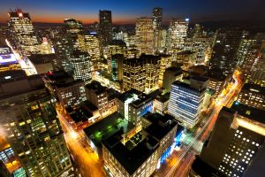 Downtown Vancouver. Image: Shutterstock/Chris Howey.