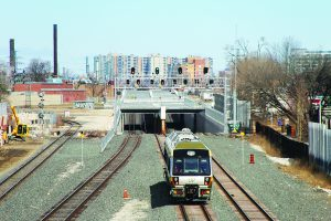 West Toronto Diamond Rail-Rail Grade Separation. Image: Parsons.