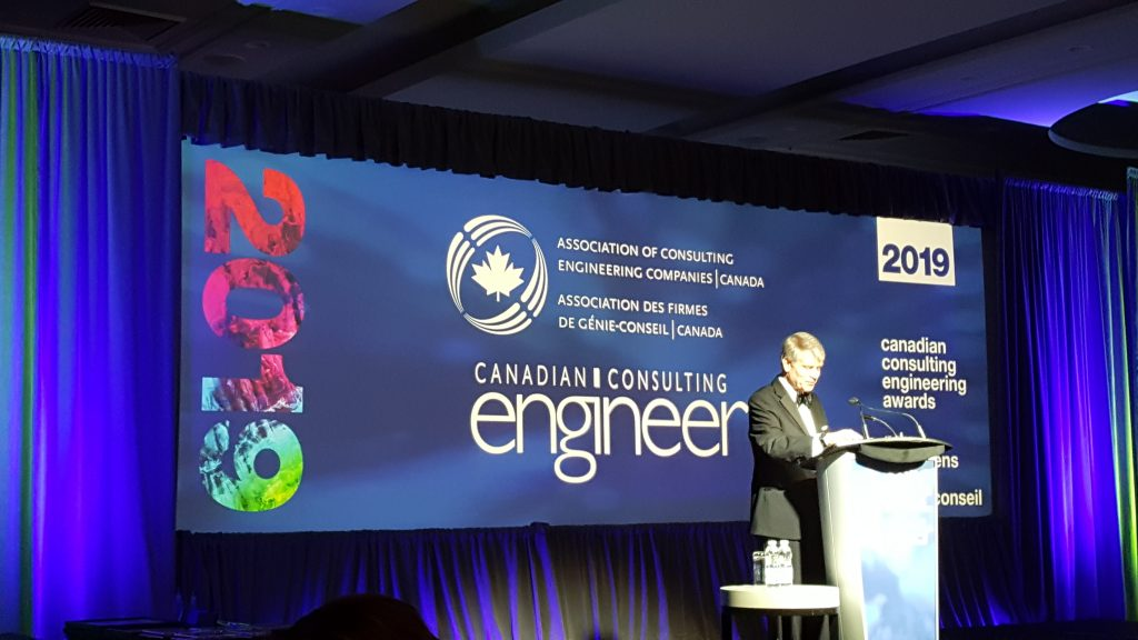 John Gamble of ACEC-Canada.