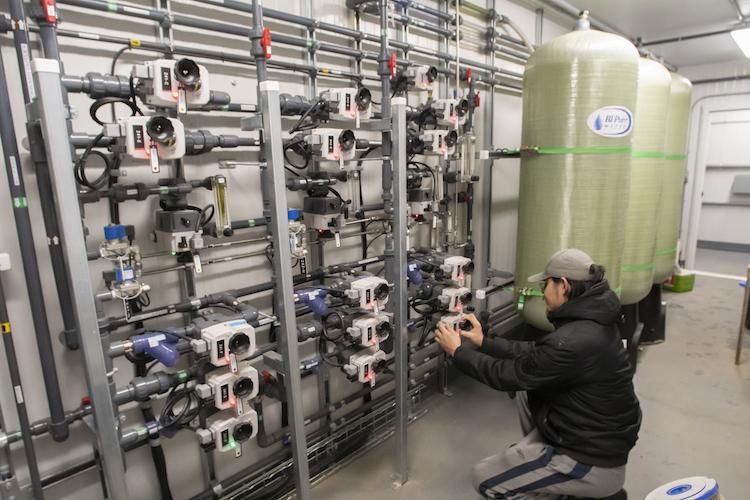 BIEX water treatment plant