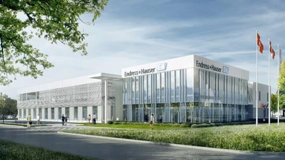 Endress+Hauser CX centre
