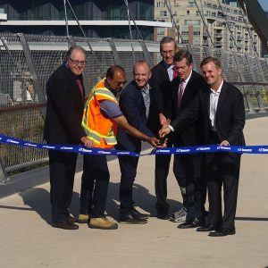 Garrison Crossing official opening