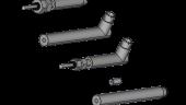 3-D models of LVDT position sensors