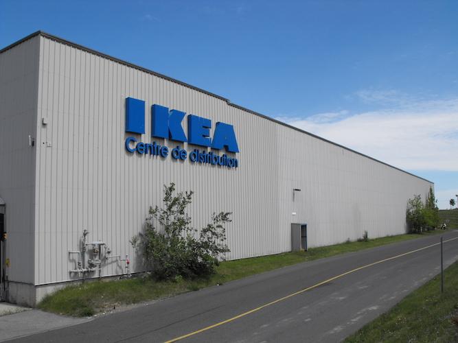 Ikea distribution centre