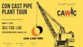 Con Cast Pipe tour