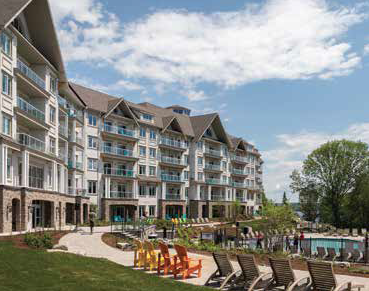 Deerhurst Lakeside Lodge Resort Homes