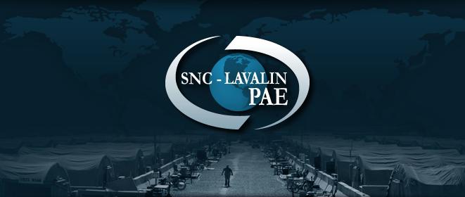 SNC-Lavalin PAE logo