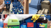 Hatch delivers cleaning supplies