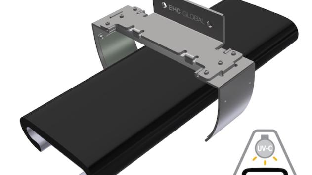EHC Global LED UV-C Handrail Sterilization Solution