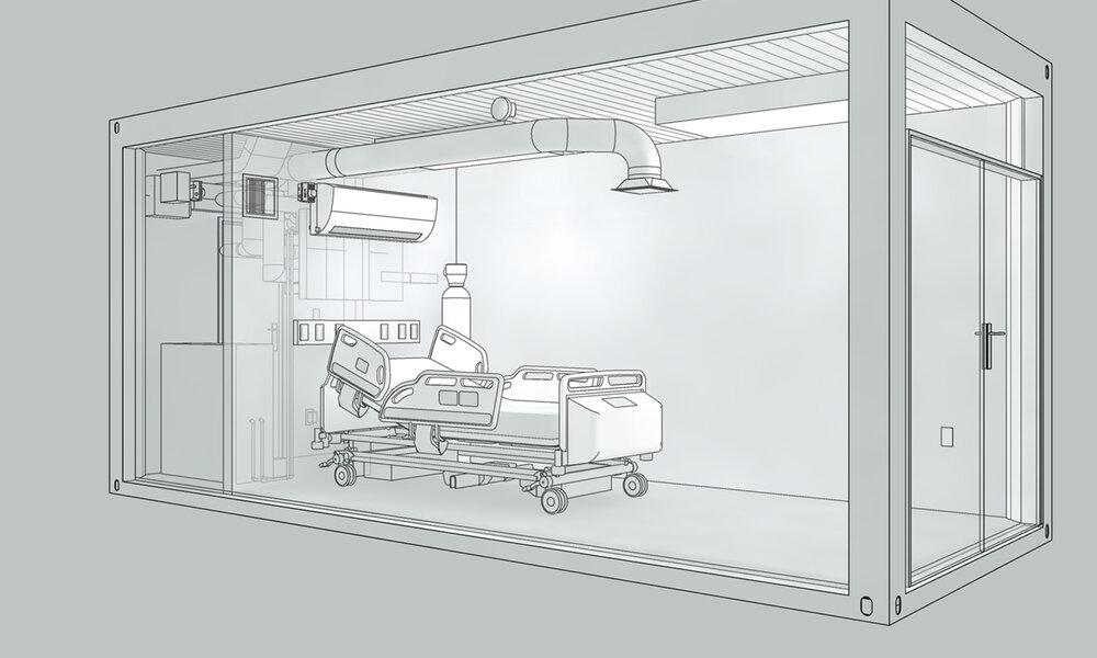 Portable ICU