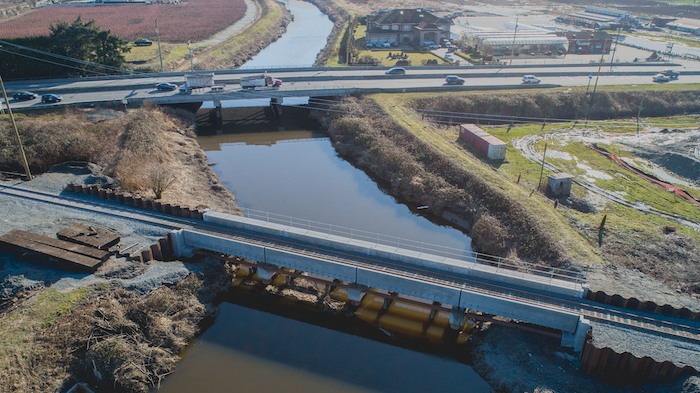 Serpentine Rail Bridge