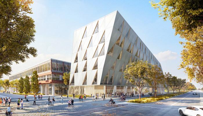 York University school of continuing studies new building