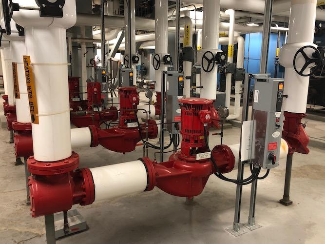 Enercare Centre - Boiler Room