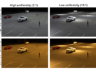 Parking lot lighting figure 1