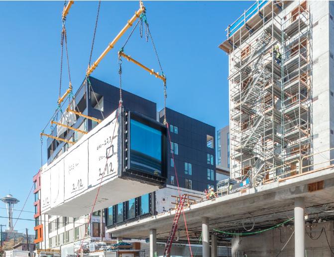 Modular high-rise construction