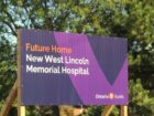 Site of new West Lincoln Memorial Hospital