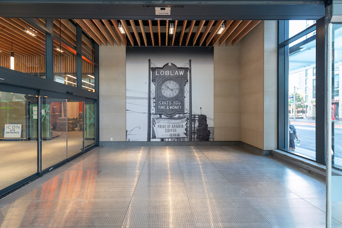 Loblaw West Block retail lobby