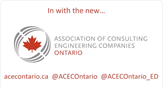 Introducing ACEC-Ontario logo