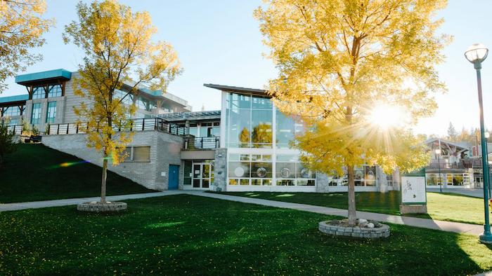 UNBC campus