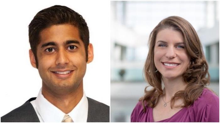 Tariq Amlani and Laura Flannery Sachtleben