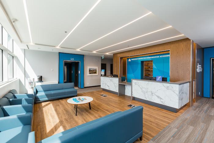 Wavefront Centre for Communication Accessibility reception