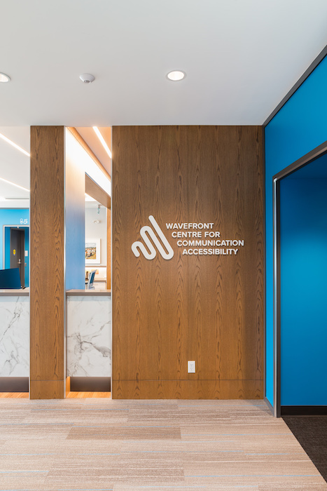 Wavefront Centre for Communication Accessibility corridor