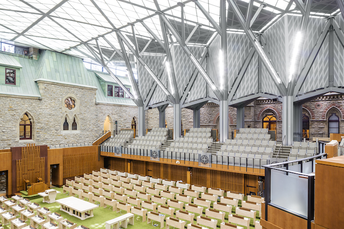 West Block: Interim House of Commons Chamber