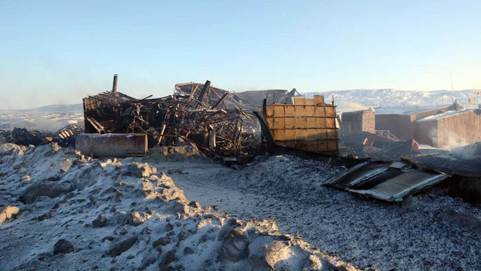 Kugaaruk school destroyed in fire