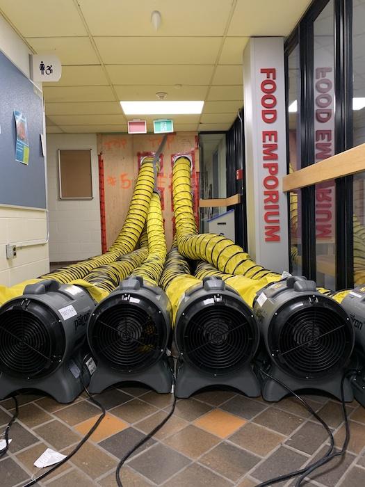 Building NX - air leakage testing