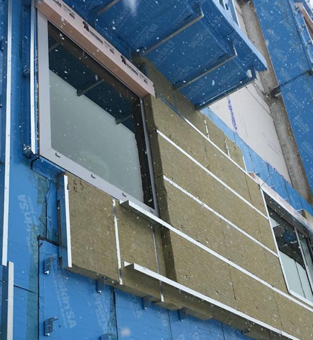 Building NX - triple-glazed windows
