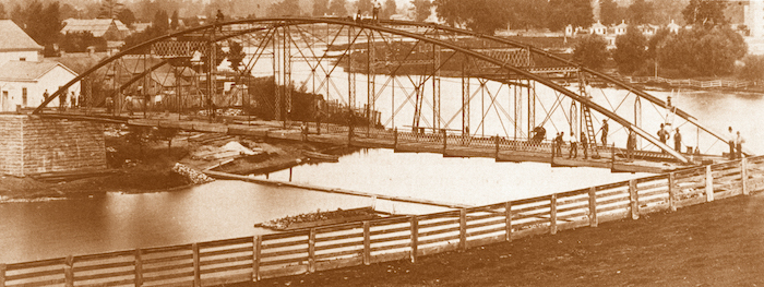 Historic Blackfriars Bridge