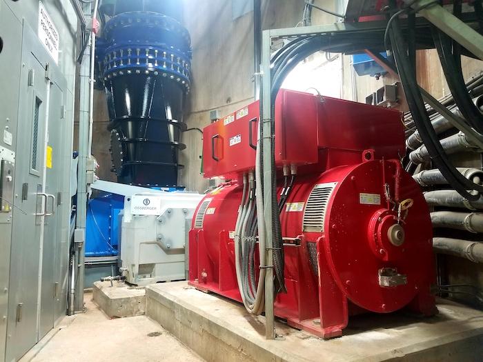 turbine and generator