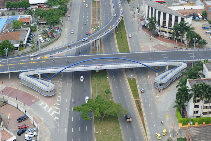Expressway in Cali, Colombia