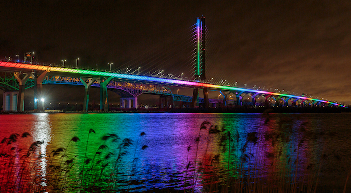 Samuel De Champlain Bridge – illumination