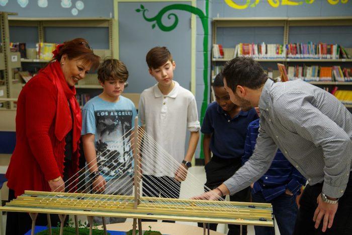 Samuel De Champlain Bridge - school program