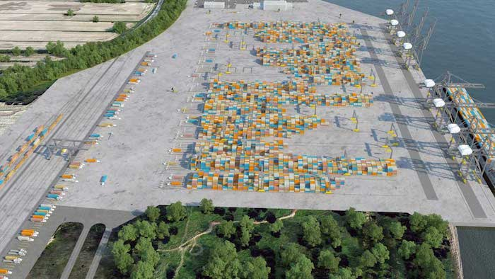 Contrecoeur shipping containers