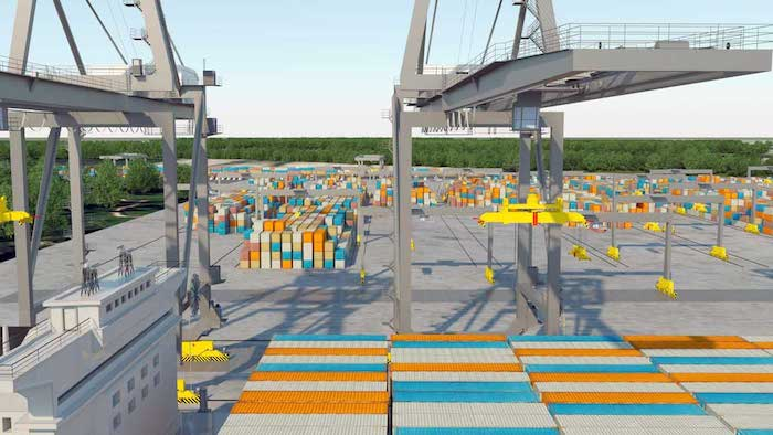 Contrecoeur container handling