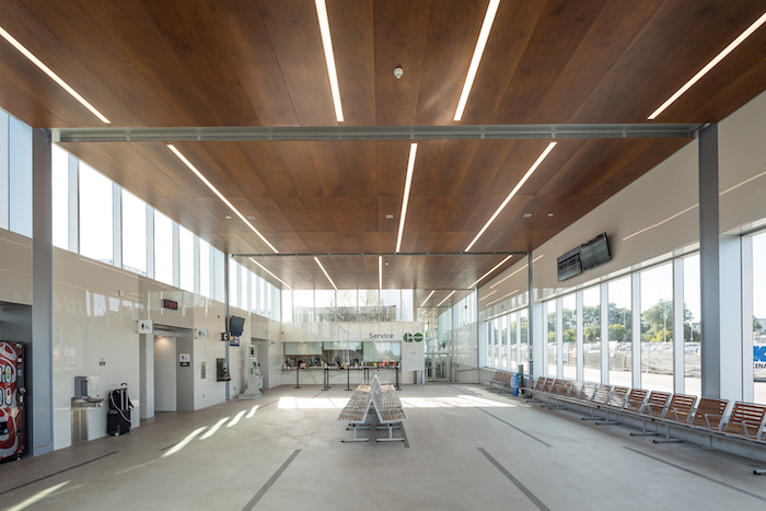 Guildwood Station waiting area