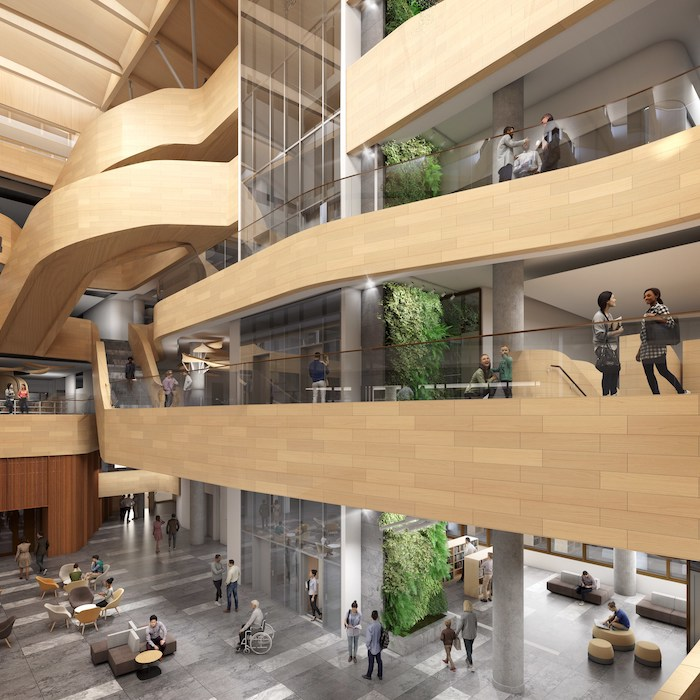 Library and Archives Canada-Ottawa Public Library joint facility - interior