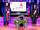 Kathy Baig receives honorary doctorate